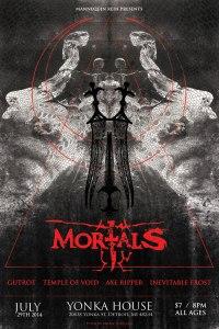 MortalsShowFlyer2014