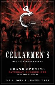 Cellarmen's(GrandOpening)Poster