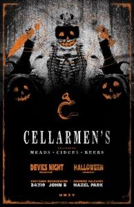 Cellarmen's(HalloweenPoster)