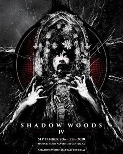 Poster art & design for Shadow Woods IV.