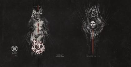 Her Dark Host - Crimson Queen b/w Lycania 7 inch (2017)