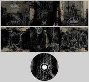Wolvhammer - The Monuments of Ash & Bone (2018) CD Layout