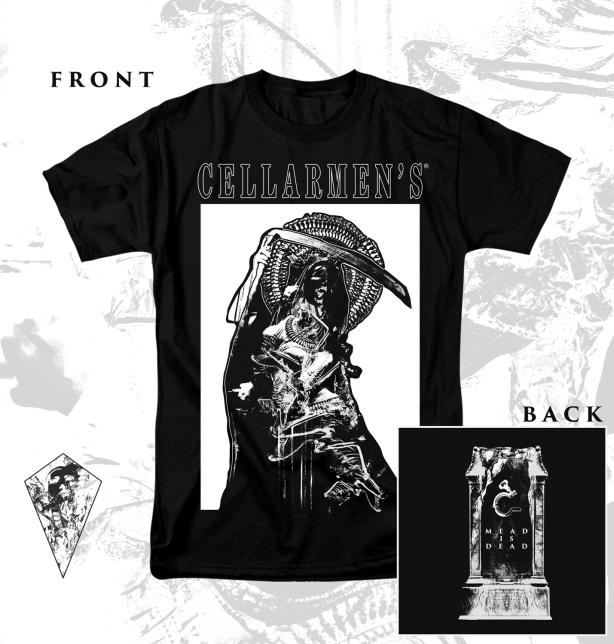 """""""Mead is Dead"""" Art / Design for Cellarmen's"""